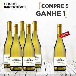 Vinho Doña Florencia Chardonnay Compre 5 leve 6