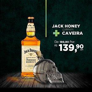 Jack Honey + Garrafa Caveira