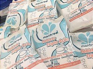 Pastilha de Cloro Tripla Ação Montreal 200gr