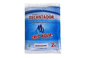 Decantador 2kg Cris Agua (Sulfato de Aluminio)