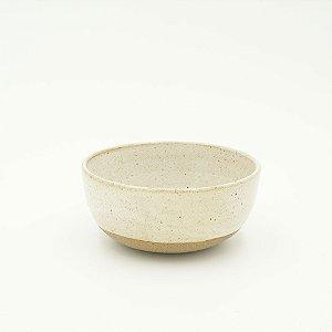 PUNTINI BOWL - argila/branco