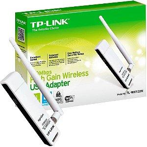Adaptador Wireless USB 150Mbps TL-WN722N TP-Link