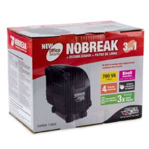 Nobreak UPS Office Security True 700 Intelig  Force Line