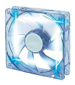 Cooler Akasa Led Azul 120mm 12cm Ak-174cb-4bls P/ Gabinete