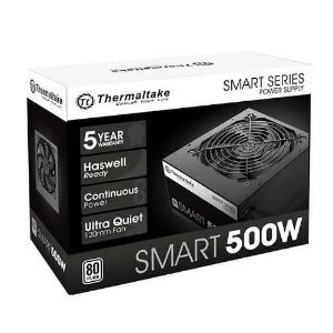 Fonte 500w Tt Smart Atx2.3 80+ White Ps-sp-0500
