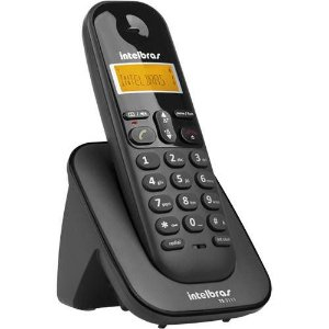 Ramal sem Fio Digital Intelbras TS 3111 Preto Para Bases TS 40 ID, TS 60 V, TS 3110 ou TS 3130 Intelbras
