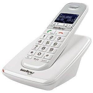 Telefone sem Fio TS 63V com ID Intelbras Branco