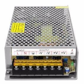 Fonte 5v 20a 100w Mini Estável Bivolt Display Painel Led