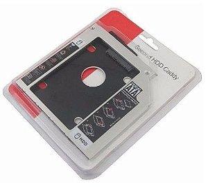 Adaptador Caddy Hd/ssd Sata 2.5 Notebook 12.7mm Universal