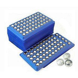 Kit 10 Cartela 50 Baterias Ag10 Lr1130 Laser Relógio Vela Led