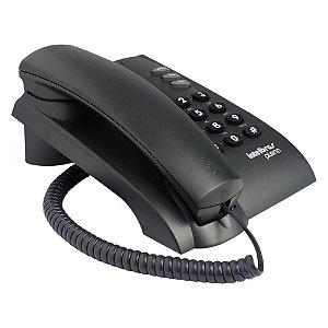 Telefone Com Fio Intelbras Pleno Sem Chave Grafite