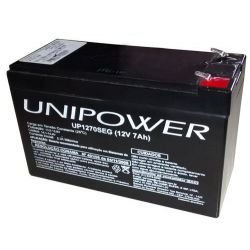 Bateria Recarregavel Selada 12v 7 Ah Unipower