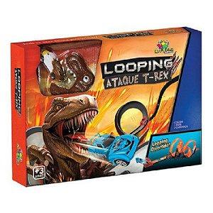 Pista Looping Ataque T-rex