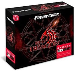 Placa De Video Amd Rx 550 2gb Gddr5 Powercolor Red Dragon
