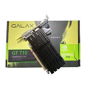 Placa De Video Gt 710 1gb Ddr3 Nvidia Geforce Galax 64bits