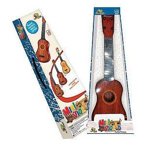 Mini Violão Infantil Com Corda E Palheta