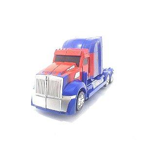 Caminhão Vira Robô Bate Volta com luz