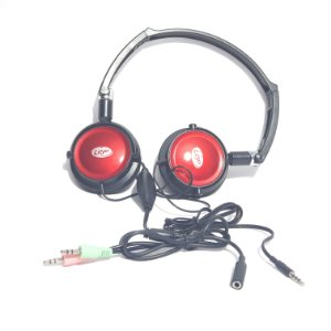 Fone Head Phone Leyer Gh-604 Hi-fi Headset