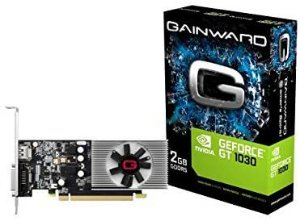 Placa de video GT1030 2GB DDR5 64BITS NE5103000646-1080F, Gainward, NE5103000646-1080F