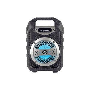 Caixa De Som USB P2 60W Rms LED HOOPSON RBM-012