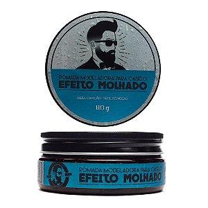 Pomada para Cabelo - Efeito Molhado – 110 g - Barba de Respeito