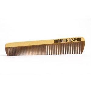 Pente de Madeira Barba e Cabelo - Large Wood -  Barba de Respeito