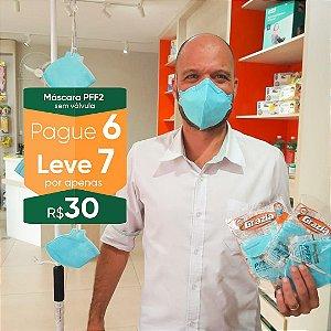 Kit Semanal - 7 máscaras respiratórias PFF2