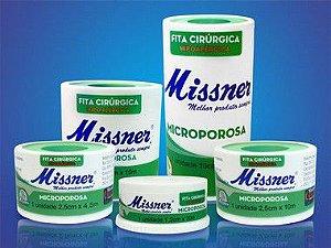Fita cirúrgica microporosa hipoalérgica branca - Missner