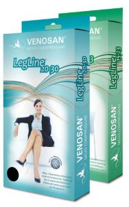 Meia legline /compressão 20-30 olinda - Venosan