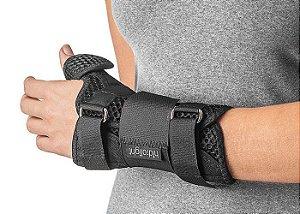 Órtese com tala para punho e polegar curta Comfort Air - Hidrolight
