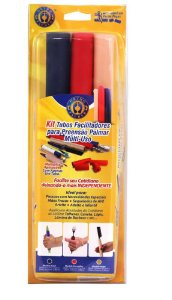 Kit tubos facilitadores para preensão palmar multi-uso - Orthopauher