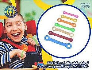 Kit fix hand alça adaptável para fixação multi-uso - Orthopauher