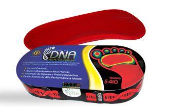 Palmilha de silicone DNA Delta - Ortho Pauher