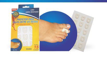 Protetor para calos entre os dedos - Orthopauher