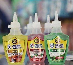 Gel antisséptico perfumado para mãos Pauher clean - Orthopauher