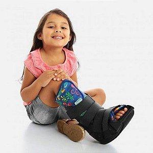 Bota imobilizadora robocop infantil - Chantal