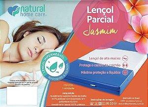 Lençol parcial branco jasmim - Natural Home Care