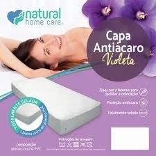 Capa antiácaro violeta - Natural home care
