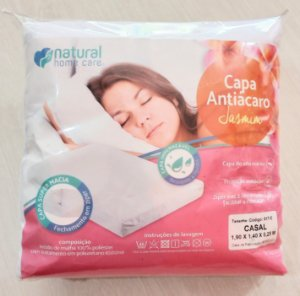 Capa antiácaro Jasmin - Natural home care