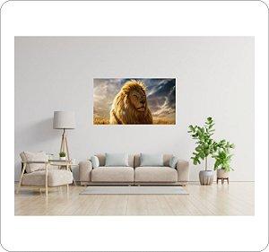Quadro Decorativo Canvas Leão 3