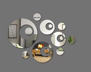 Espelho decorativo círculo modelo 1