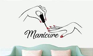 Adesivo para Salão Manicure