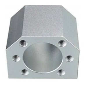 Suporte Para Castanha Fuso De Esferas 32mm Alumínio