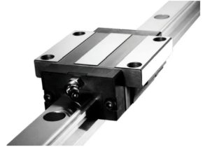 Guia Linear 30mm X 500mm + 2 Patins Com Abas