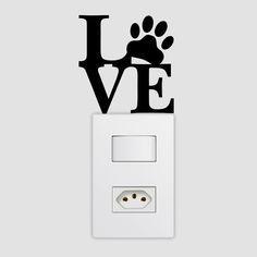 Adesivo de Interruptor Love