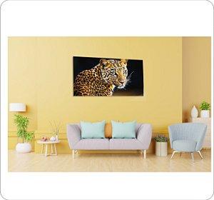 Quadro Decorativo Cavas Leopardo 2