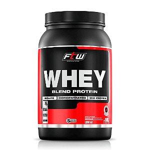 Whey Protein 40% Blend FTW Sabor Morango - 900g
