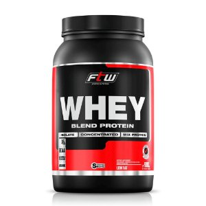 Whey Protein Concentrado 60% Fitoway FTW Sabor Chocolate - 900g