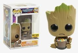 Funko Pop - Baby Groot With Mms (Exclusivo Hot Topic)