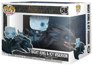Funko Game Of thrones: NightKing with Ice Viserion Nº 58